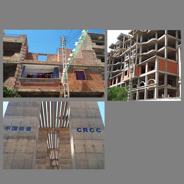 Ruines en construction