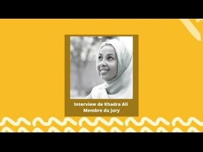 Khadra Ali, membre du jury